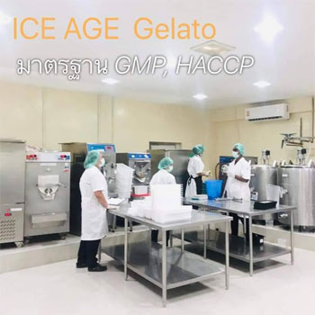 GMP ice cream production