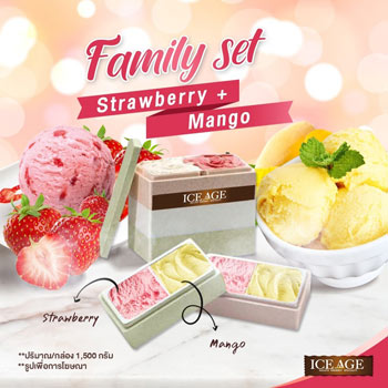 Asian favorite: strawberry mango